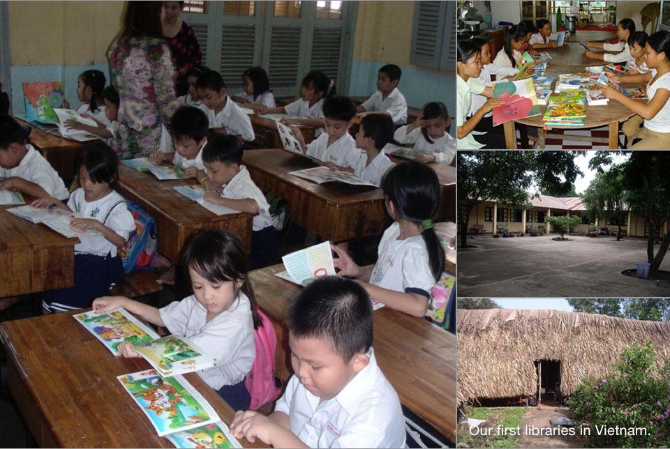 our story_first_libraries_in_vietnam